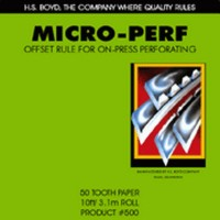 LITHO MICRO-PERF